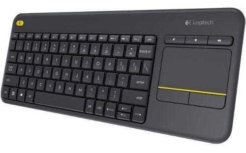 Teclado Wifi Logitech K400 Plus Touchpad Smart Tv Wifi