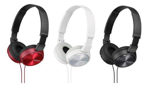 Audífonos Negros Manos Libres Sony Mdr-zx310ap Originales