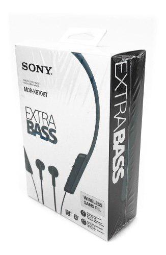 Audifonos Sony Mdr-xb70bt Extra Bass Nfc Bluetooth 12 Mm