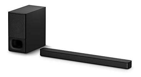 Barra De Sonido Sony Ht-s350 2.1ch Subwoofer Bluetooth Negro