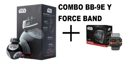 Bb9 Robot Droide Bb-9e Sphero Star Wars Y Force Band