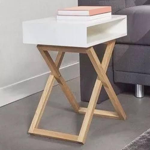 Buró Para Recamara Diseño Nórdico Escandinavo Mesa De