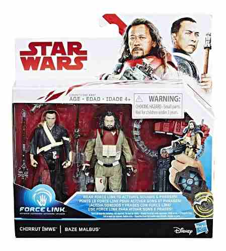 Chirrut Imwe & Baze Malbus Star Wars Force Link