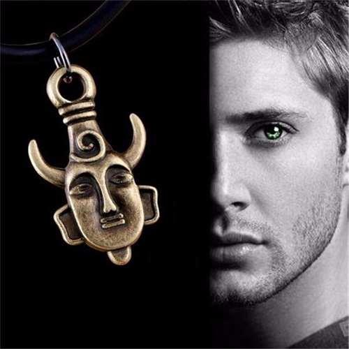 Collar Con Dije De Supernatural Dean Winchester Proteccion