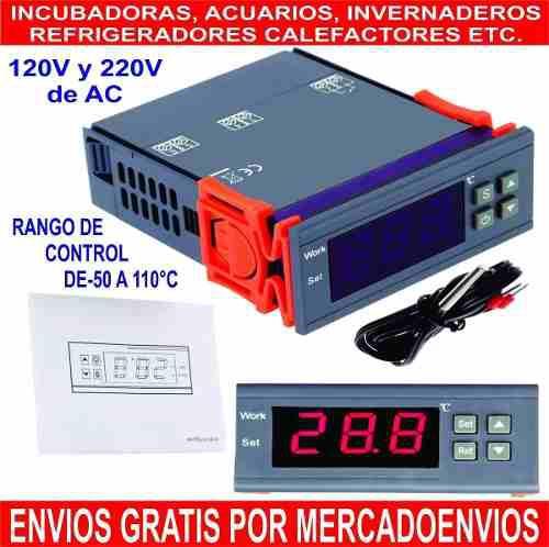 Control De Temperatura Digital Calefacción Refrigeración