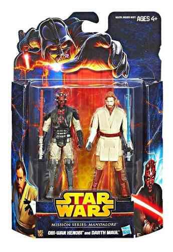 Darth Maul Obi Wan Star Wars Episode I Figura Juguete 3.75