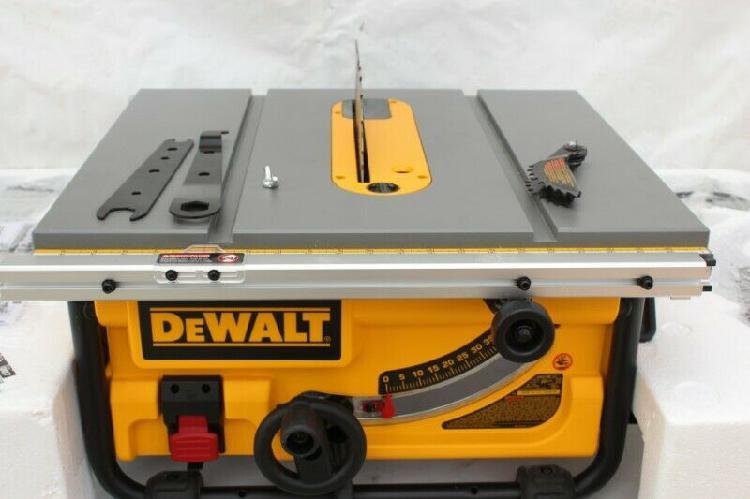 "Dewalt DWE7480 Sierra de Mesa de 10"" Pulgadas"