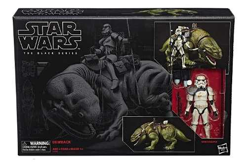 Dewback Y Sandtrooper Black Black Series Star Wars