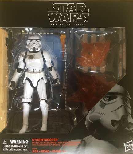 Figura Star Wars Stormtrooper Con Accesorios Black Series