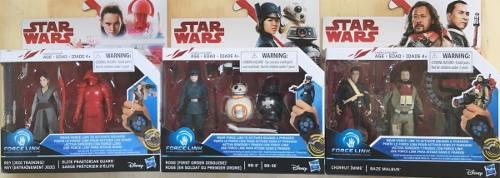 Figuras Star Wars Force Link, Rei, Bb8, Rose, Precio C/u