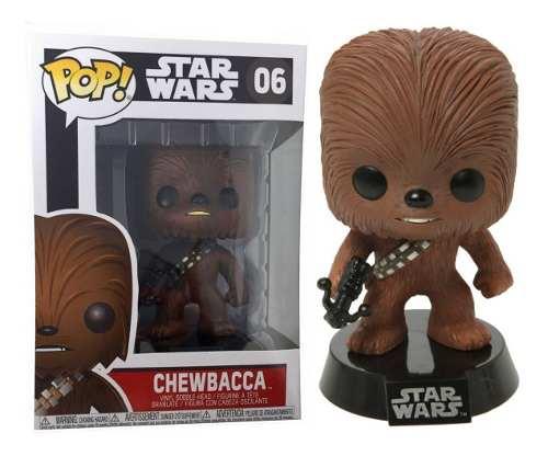 Funko Pop Chewbacca #06 Star Wars Original Env Gratis !