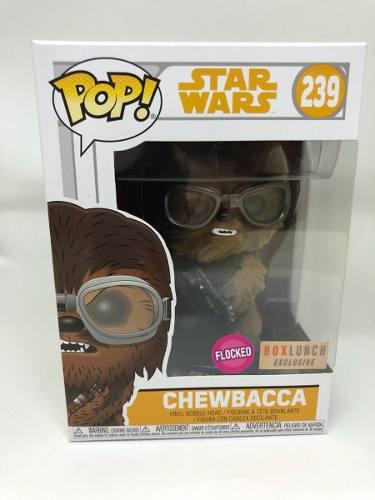 Funko Pop Chewbacca Flocked Solo Star Wars Story Exclusivo