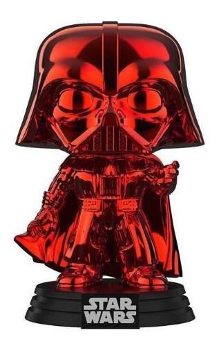 Funko Pop Star Wars Red Chrome Darth Vader Ex