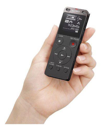 Grabadora De Voz Digital Sony Con Usb Ux560 4gb Memoria Int