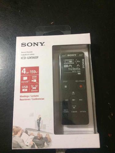 Grabadora De Voz, Sony Icd-ux560f