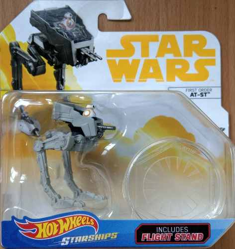 Hot Wheels Star Wars First Order At-st First Appearance