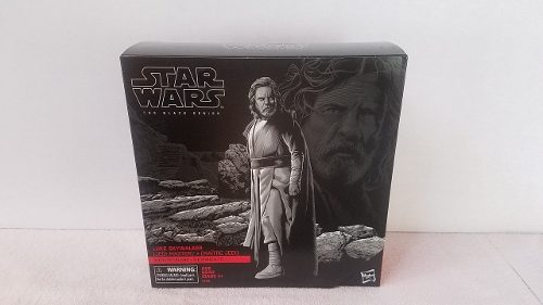 Kt Star Wars Black Serie Pack Luke Skywalker Ahch-to Island