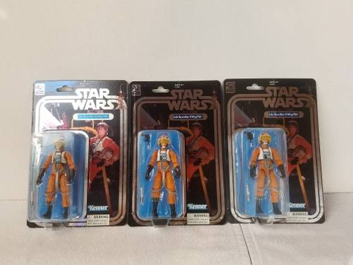 Kt Star Wars Black Series Luke X-wing Pilot 40 Aniversario