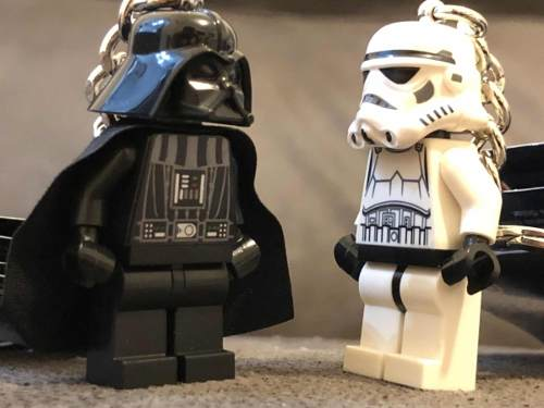 Llavero Lego Star Wars R2d2 Darth Vader Storm Trooper Envio