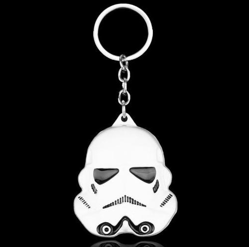 Llavero Star Wars Darth Vader Storm Trooper R2-d2 Metalico