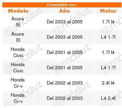 Manguera Radiador Kg Honda Civic 1.7l 2001-2005