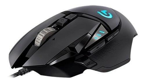 Mouse Gamer Logitech G502 Hero Rgb Hasta 16mil Dpi 11botones