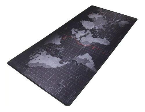 Mouse Pad Mapa 400 X 900 X 4 Mm Tapete Texturizado Pc Juegos