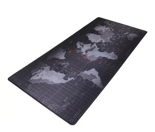 Mouse Pad Mapa 400 X 900 X 4 Mm Tapete Texturizado Pc Para