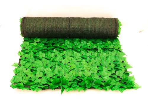 Muro Verde Rollo 1mx3m Artificial Con Malla Sombra Greenline