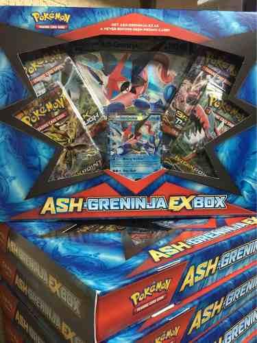 Pokémon Tcg: Ash-greninja Ex Box