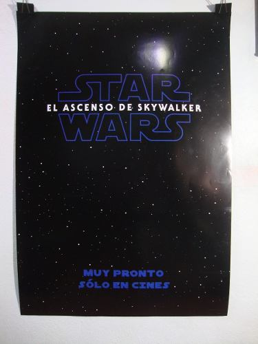 Póster De Star Wars El Ascenso De Skywalker