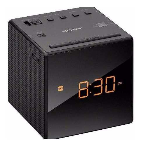 Radio Reloj Despertador Am/fm Led Marca Sony Mod. Icfc1b
