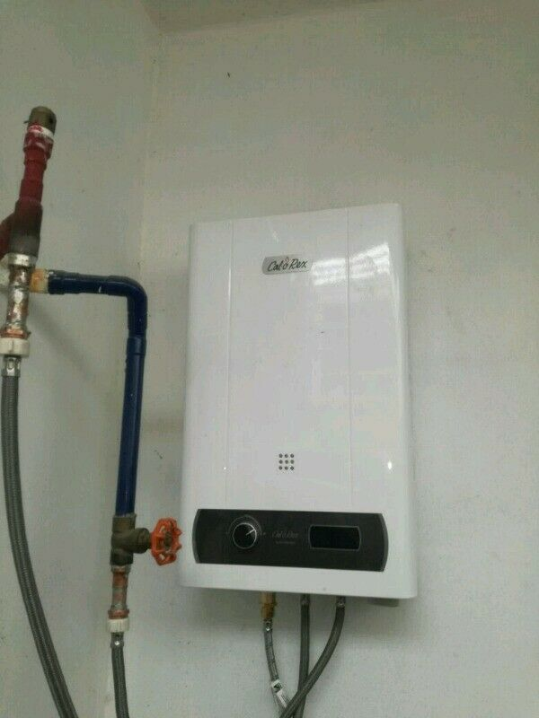 Reparación y mantenimiento de calentadores de paso y