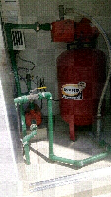 Reparación y mantenimiento de idroneumaticos y bombas de