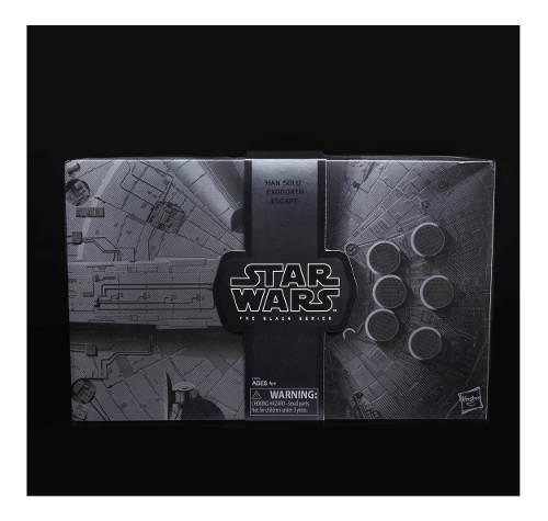 Sdcc Exclusivo The Black Series Star Wars Han Solo Nuevo
