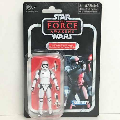 Star Wars First Order Stormtrooper Kenner Vintage Detalles