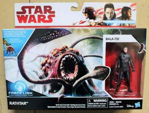 Star Wars Force Link Rathtar Y Bala-tik Nuevo