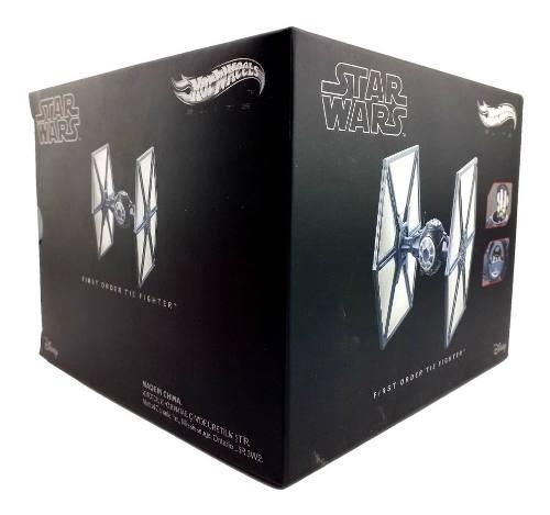 Star Wars Hot Wheels Na First Orden Tie Fighter Metal Mattel