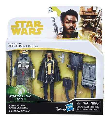 Star Wars Kessel Guard Lando Calrissian Force Link Hasbro