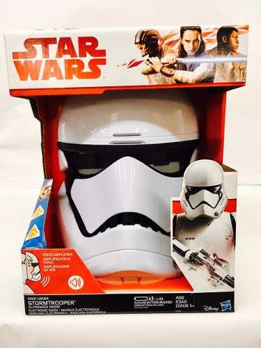 Star Wars Stormtrooper Mascara Amplificador De Voz Hasbro