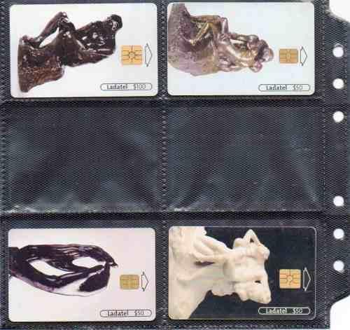 Tarjetas Telefonicas Serie Auguste Rodin Iii