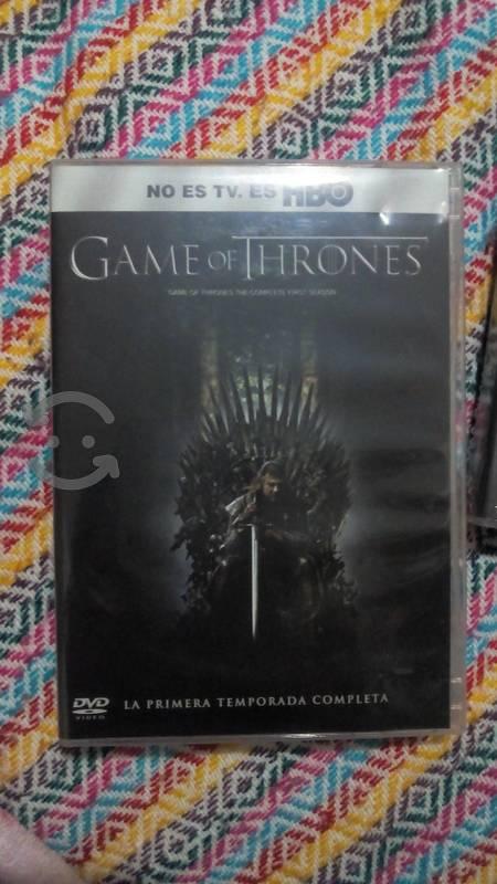 Temporada 1,2 o 3 de Game of Thrones