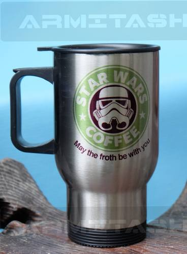 Termo Para Café Star Wars / Starbucks /personalizado