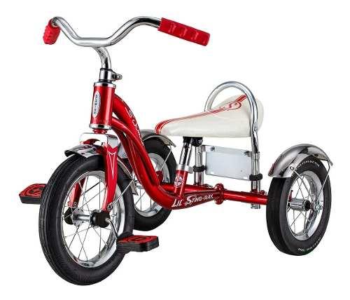Triciclo Schwinn Roadster Para Niño Y Niña Rojo A Msi