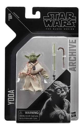 Yoda Star Wars The Black Series Collection