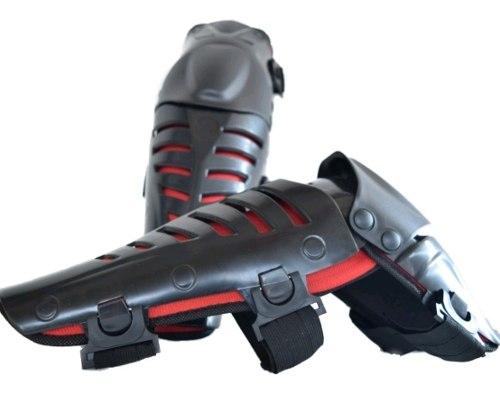 2 Rodilleras Articuladas Protecciones Motociclista Raptor