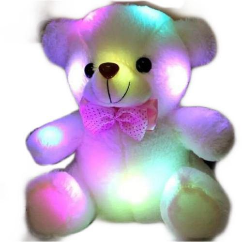 3x1 Oso De Peluche Luz Led Luminoso San Valentin Con Envio