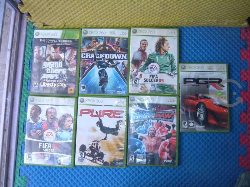 7 Juegos Originales Para Xbox 360