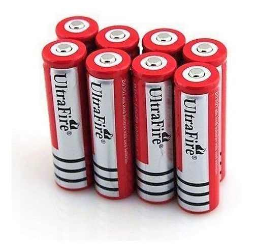 8 Baterias Pilas Ultrafire Mod. De  Mah 3.7v