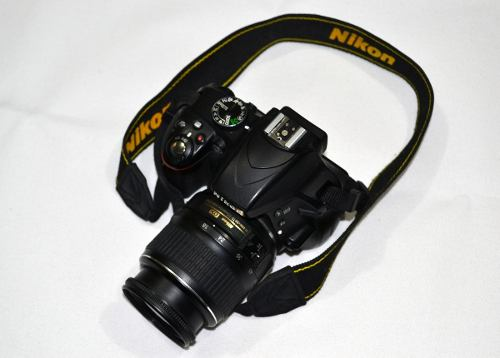 Camara Nikon D Megapixeles Con mm